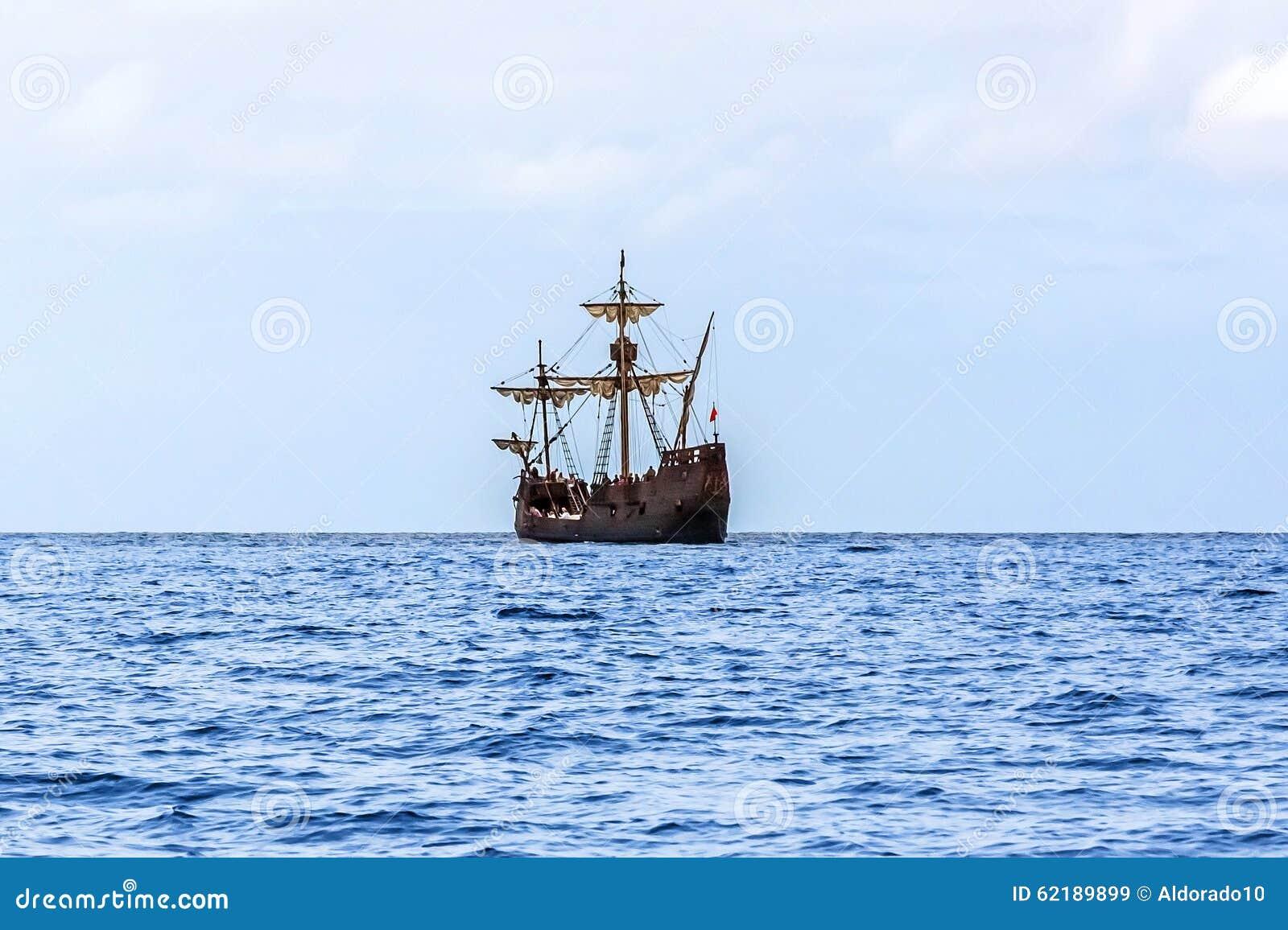 replica of christopher columbus u0027 ship santa maria madeira