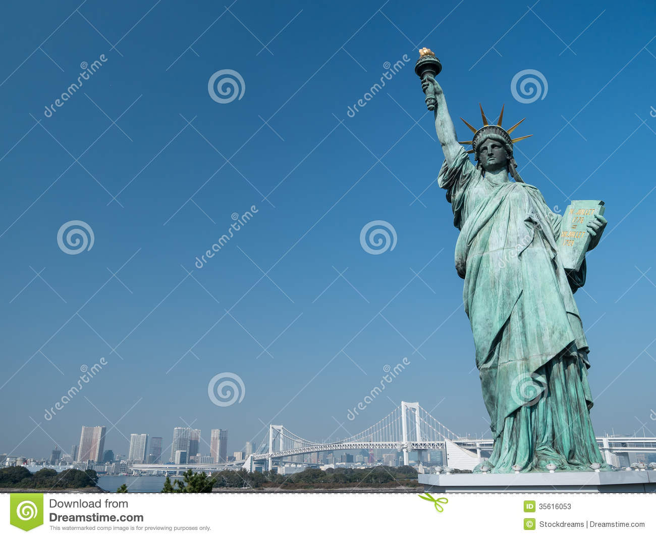 Replica Of The Statue Of Liberty Editorial Stock Photo - Image: 35616053