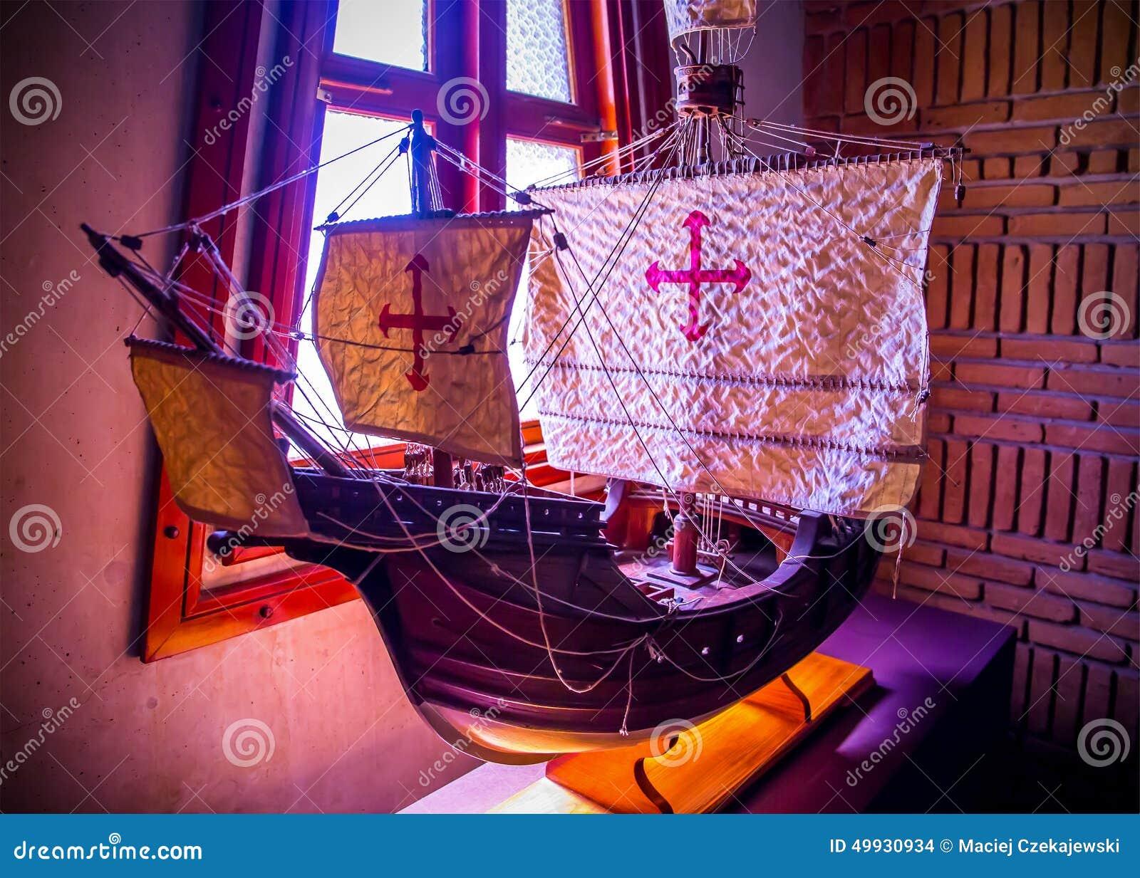 Replik von Christopher Columbus-Schiff