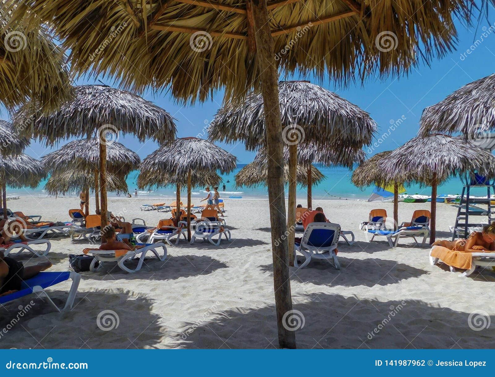 Repos dans la belle plage de Varadero