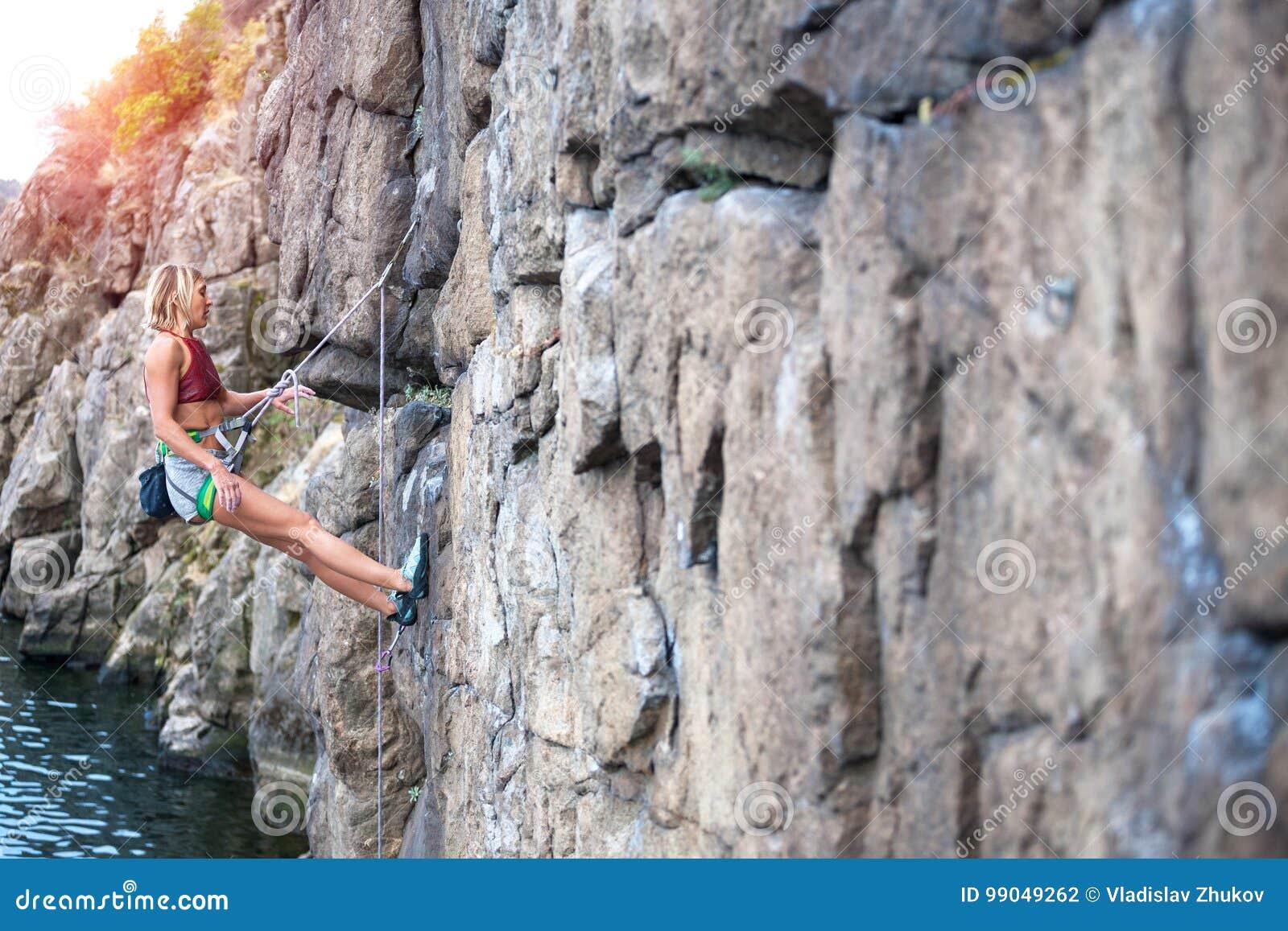 Repos de grimpeur sur l itinéraire