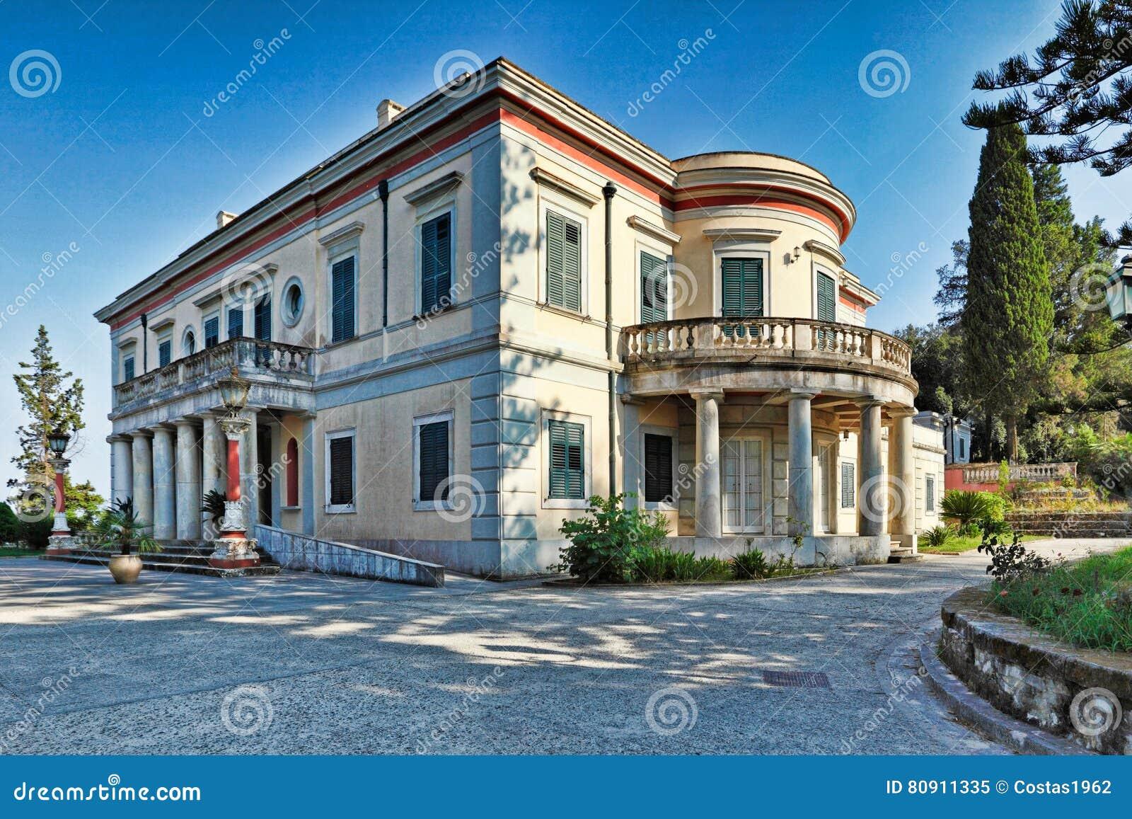 Repos de segunda-feira em Corfu, Grécia