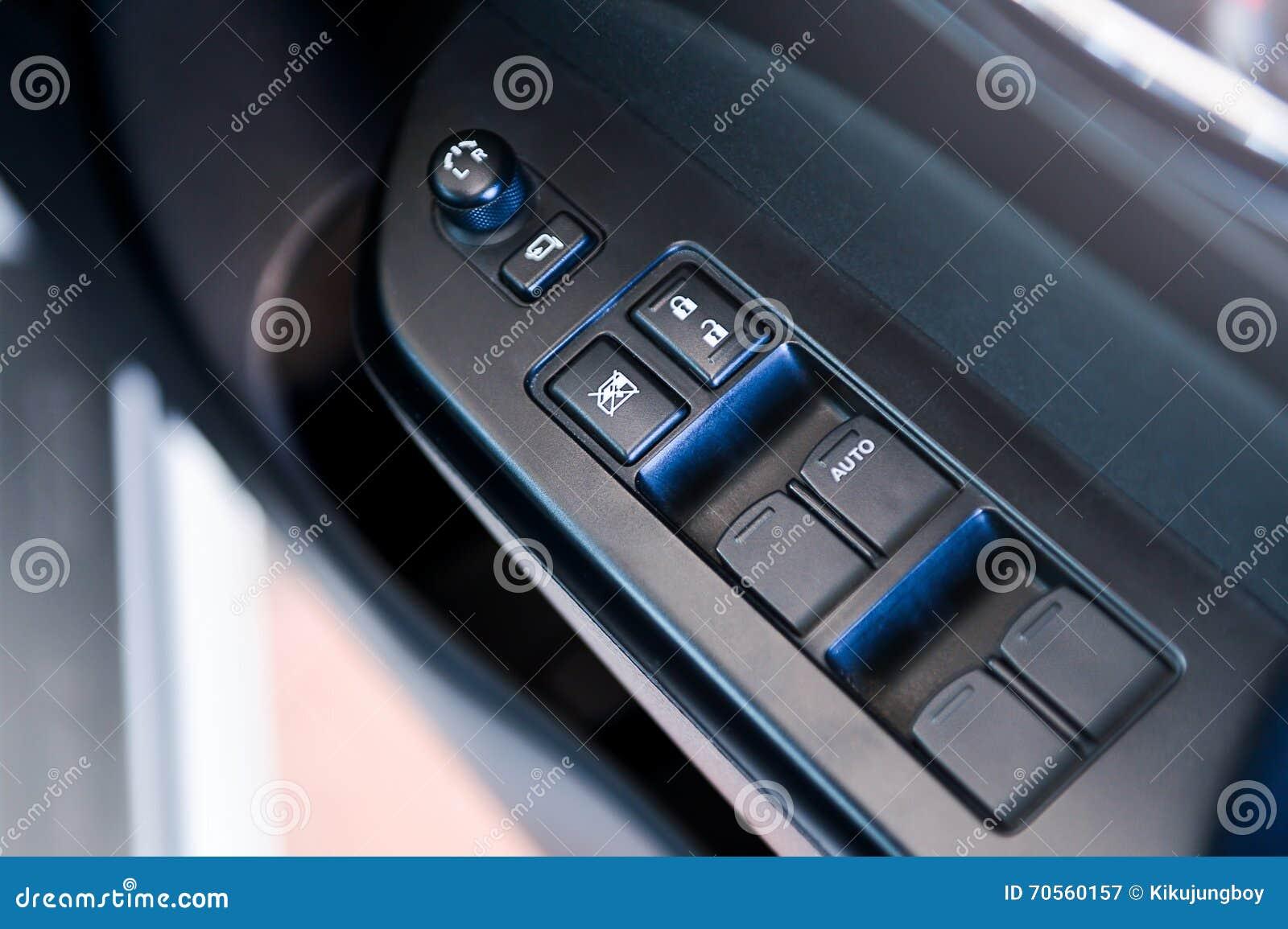 repos int rieur de bras de porti re de voiture avec le panneau de commande de fen tre serrure. Black Bedroom Furniture Sets. Home Design Ideas
