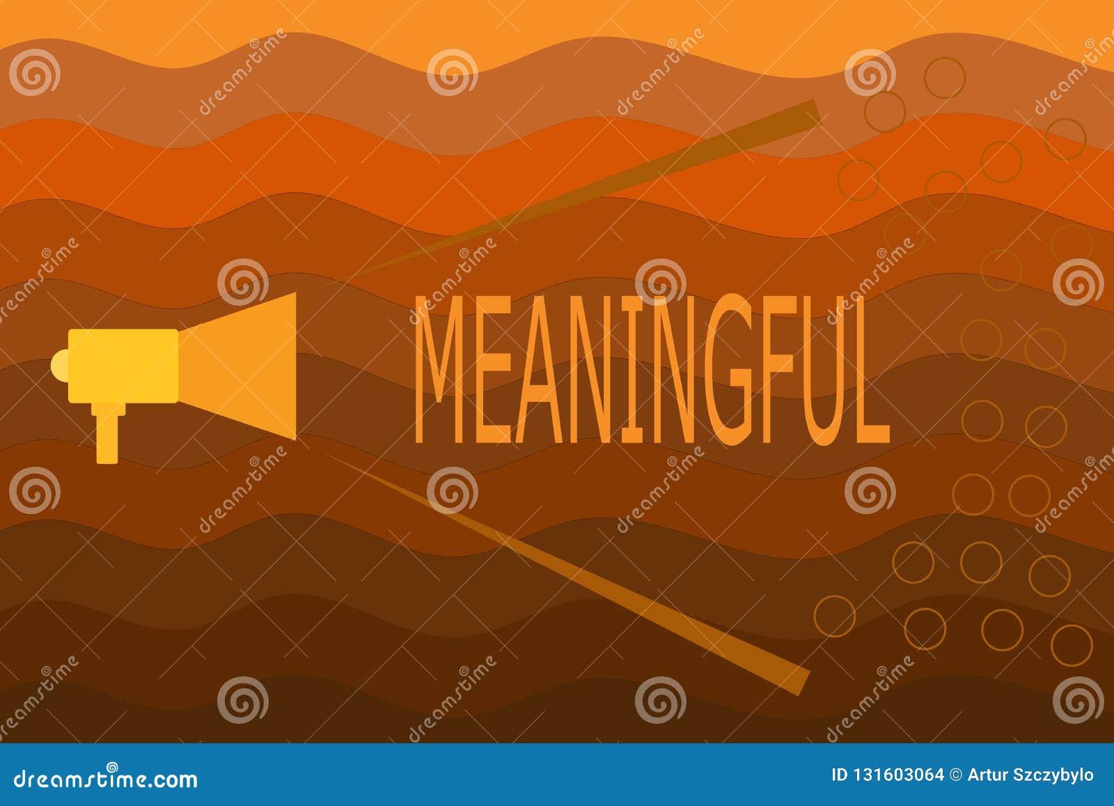 Représentation de signe des textes signicative Photo conceptuelle ayant signifier utile important approprié significatif