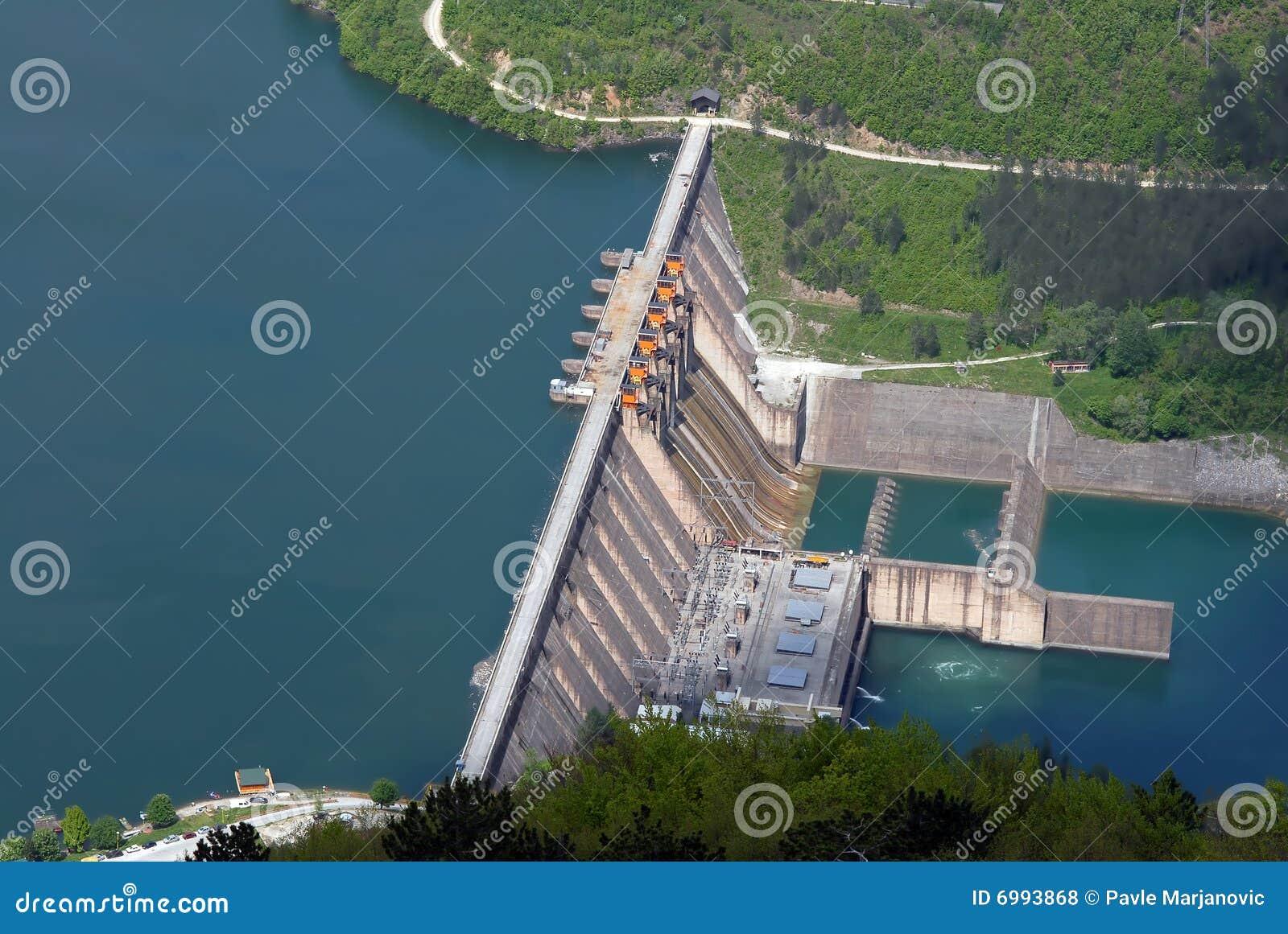 Represa da barreira de água