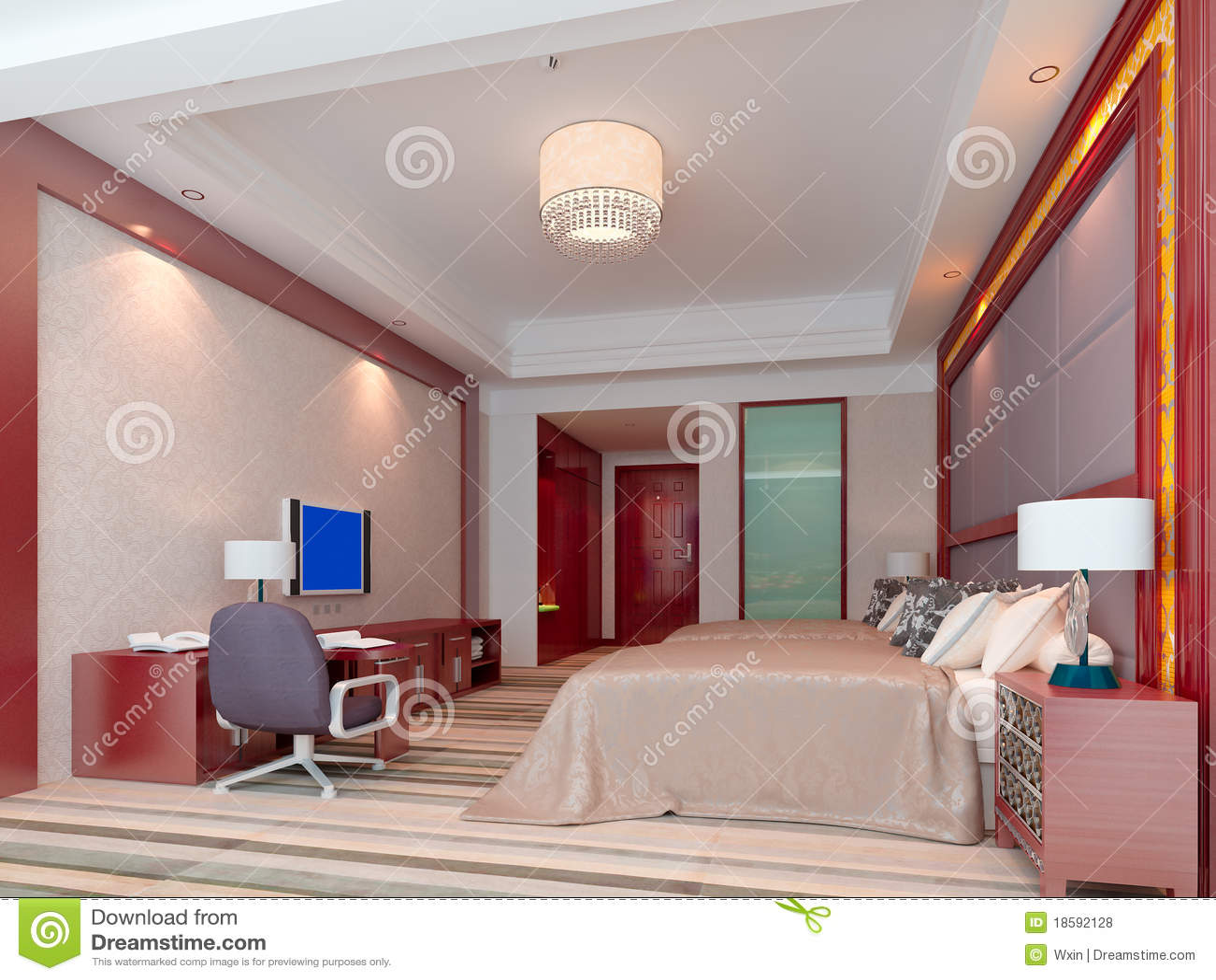 Representaci n del dormitorio 3d habitaciones fotos de for Diseno 3d habitaciones