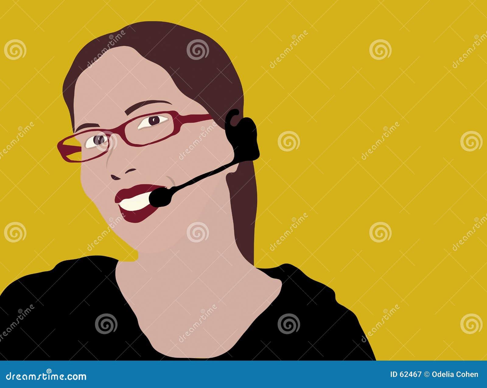 Representante do serviço de atenção a o cliente