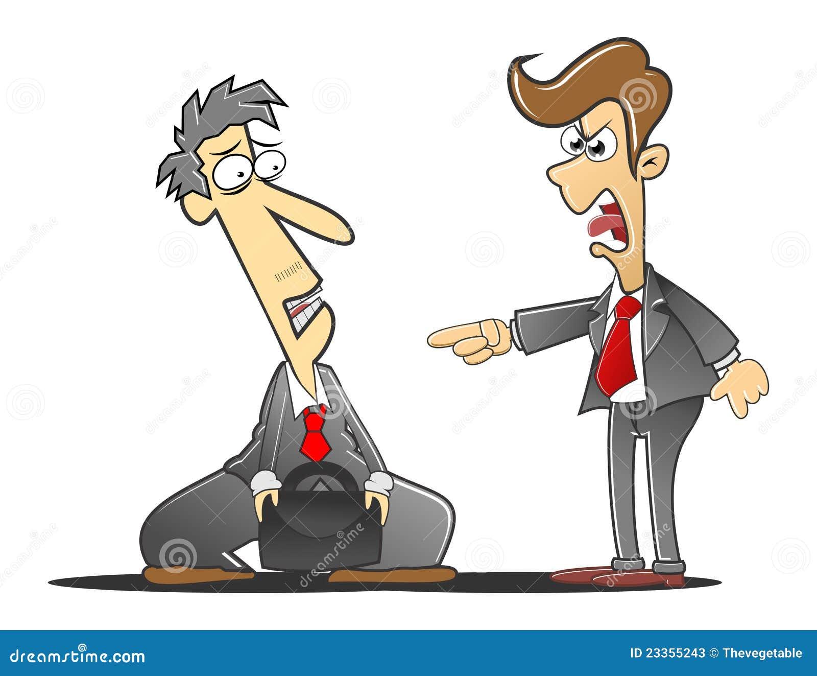 Reprimanded босс
