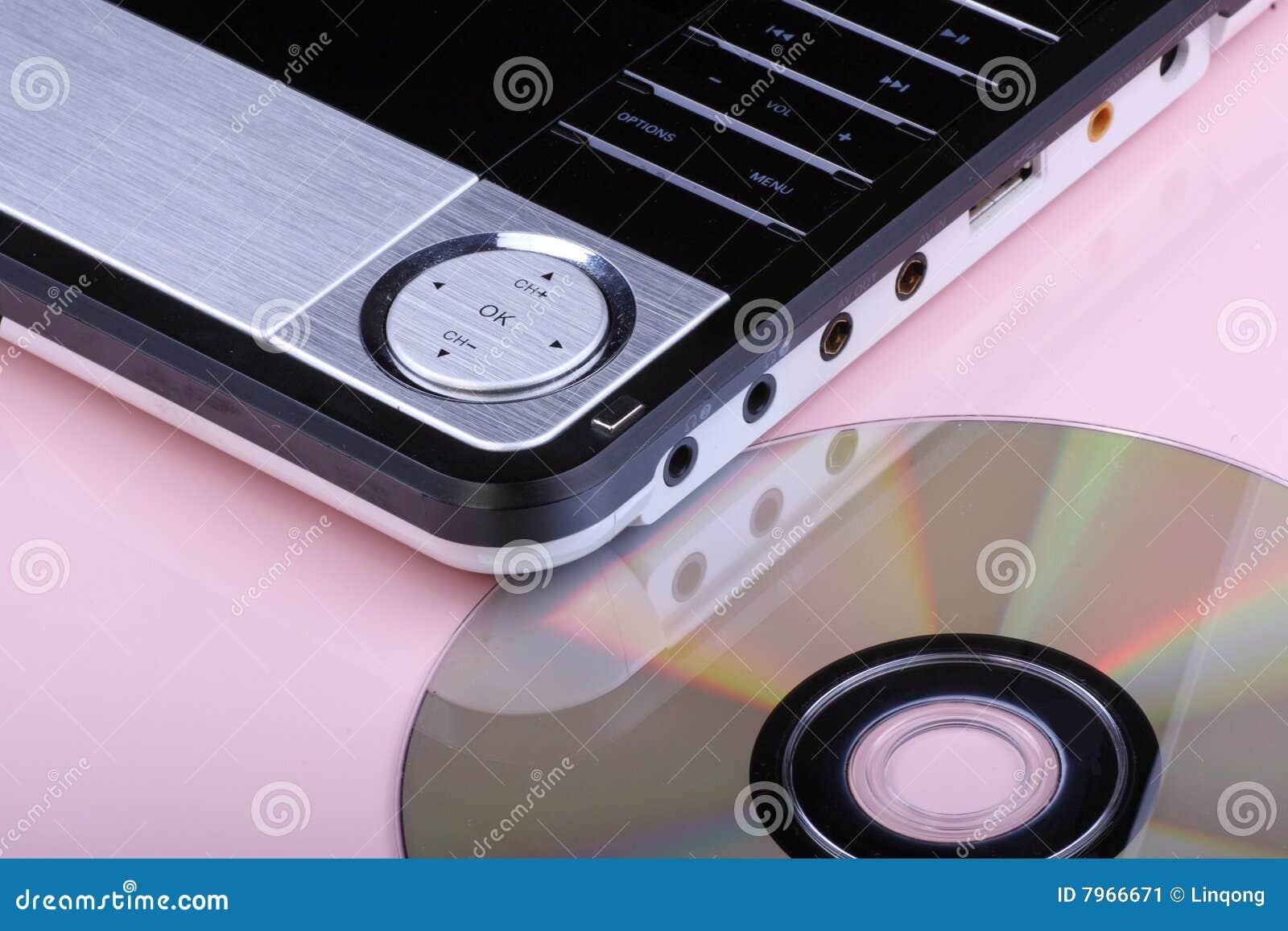 Reproductor de DVD y disco