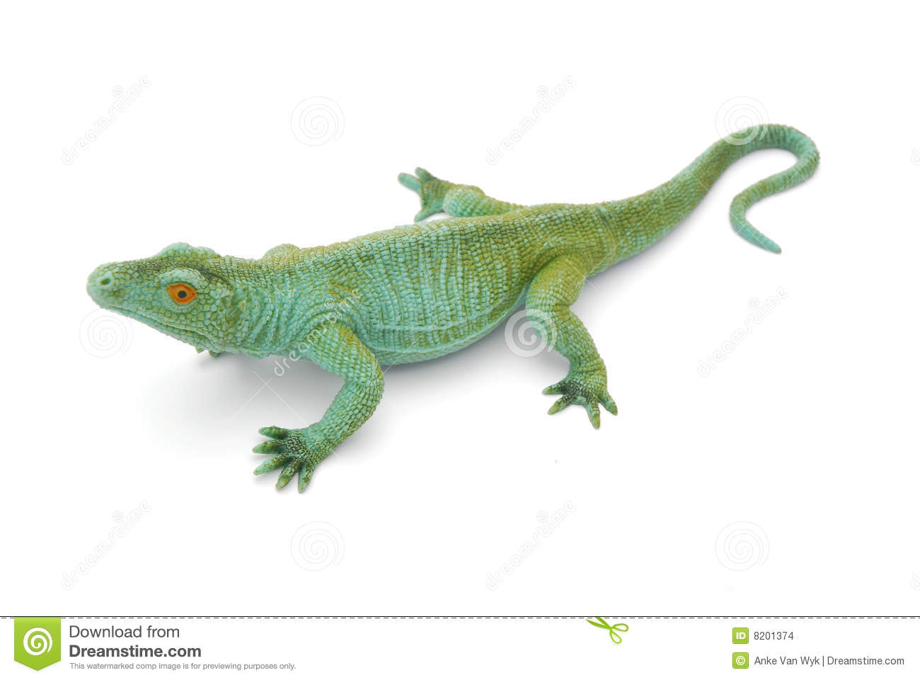 Reptile Toy Stock Photo Image Of Play Single Artificial
