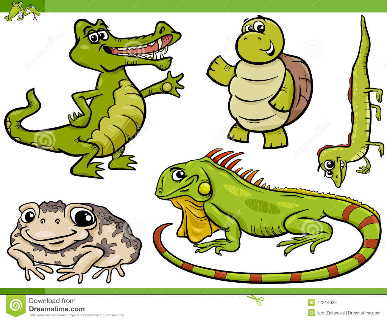 Reptiles And Amphibians Clipart | Info
