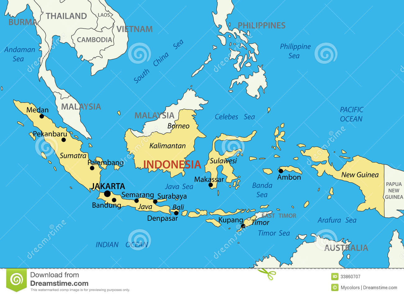 INDONESIA MAPA | Dictionary Bank INDONESIA MAPA