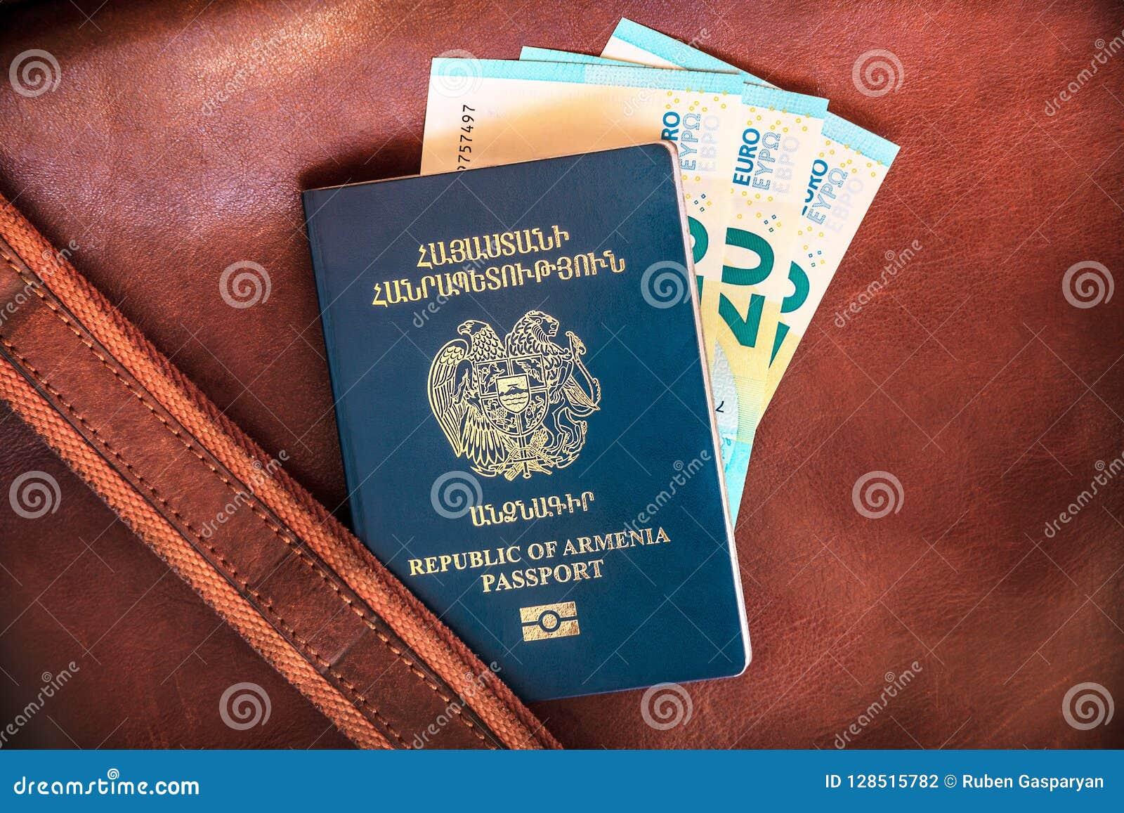 Republika Armenia paszport, Urlopowy pojęcie