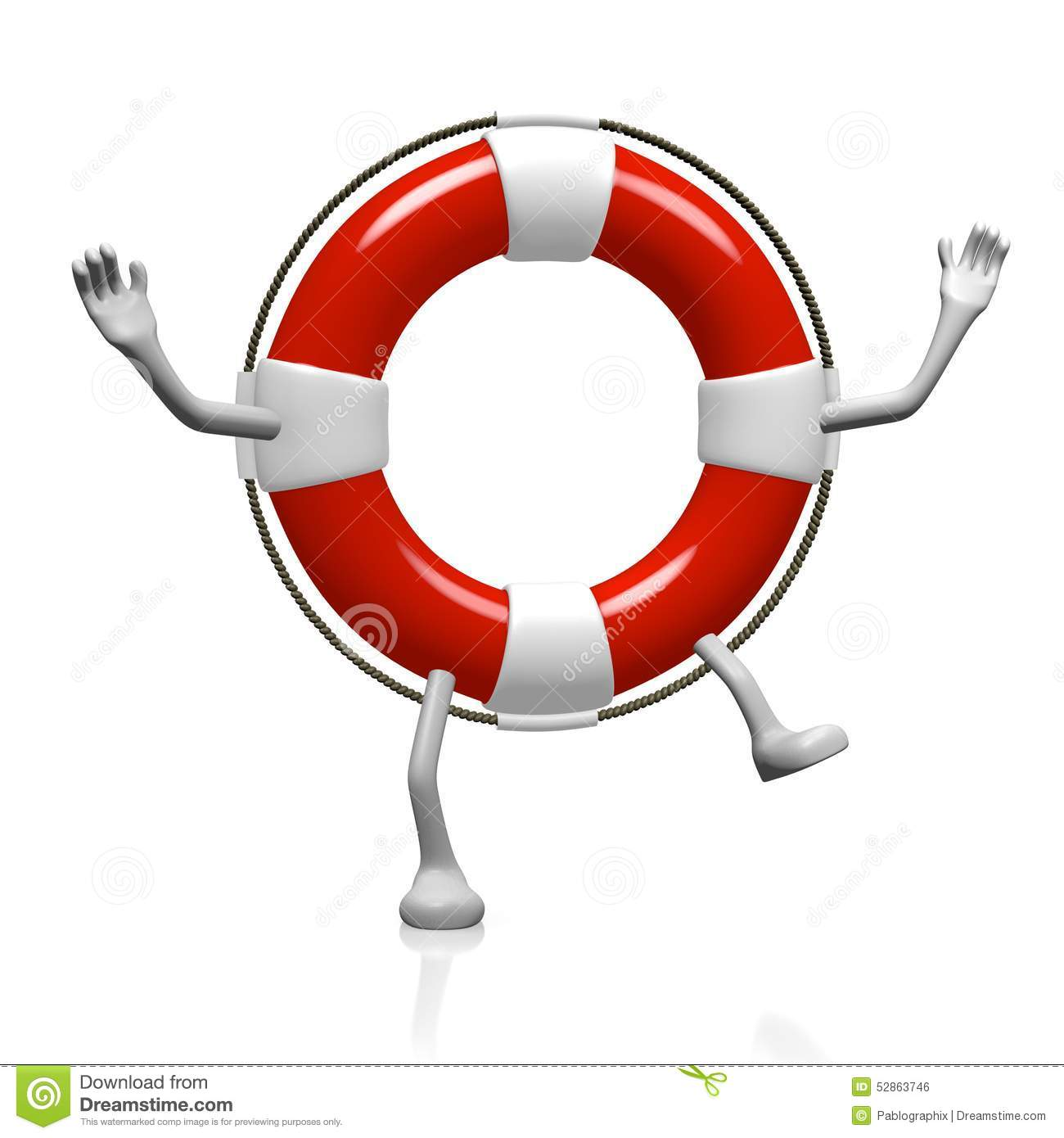 how to use a rescue buoy