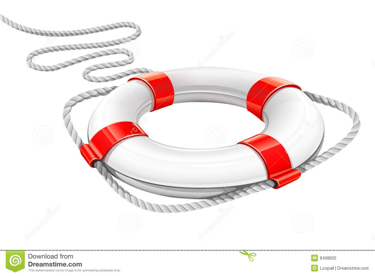 Rescue Circle For Help In Water Royalty Free Stock Photo - Image ...