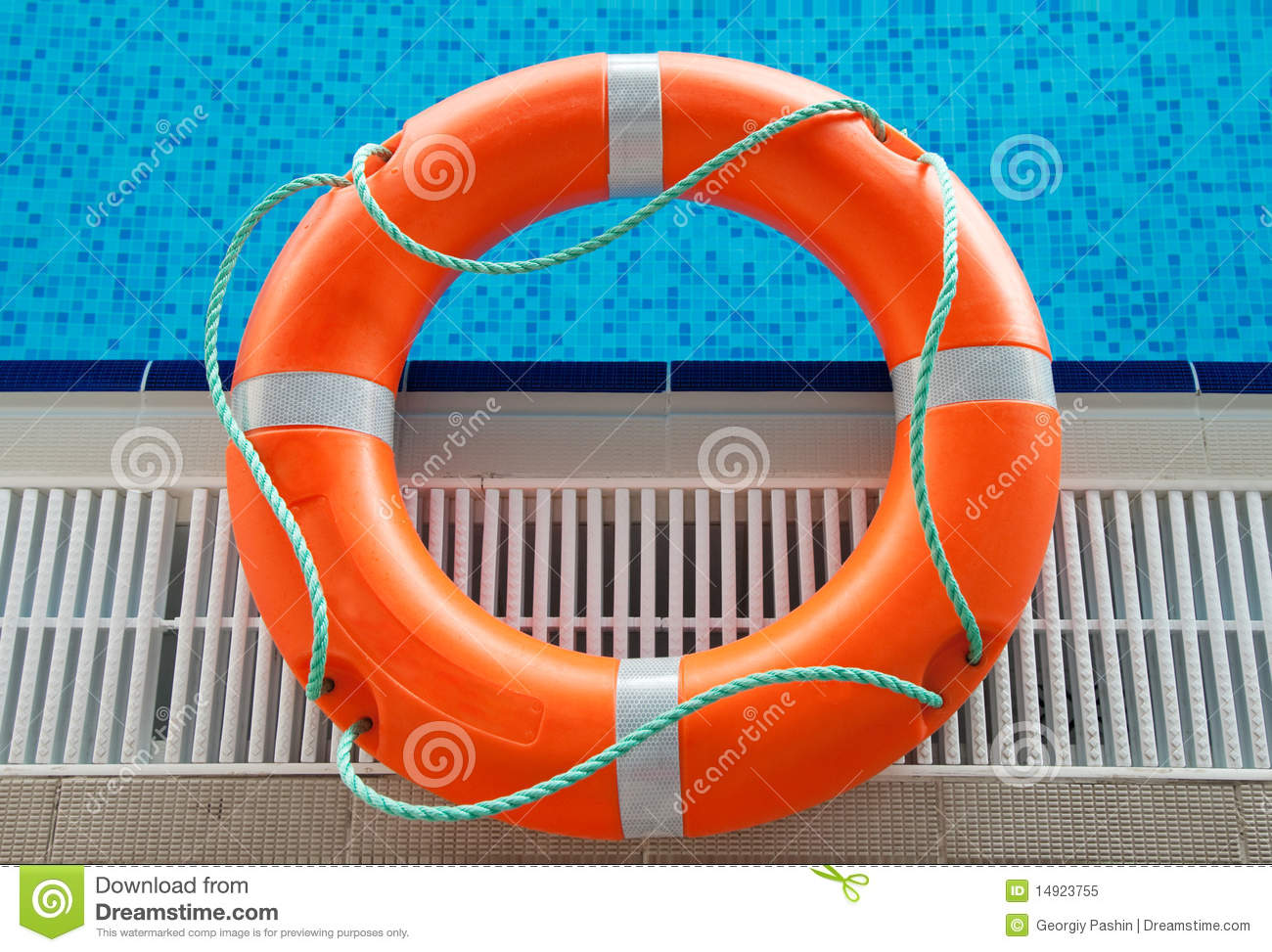 Rescue In Swimming Pool Royalty Free Stock Photo Image 14923755