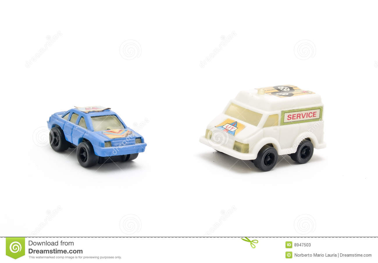 Rescue Truck And Car Toys Stock Image Image Of Dent Failure 8947503