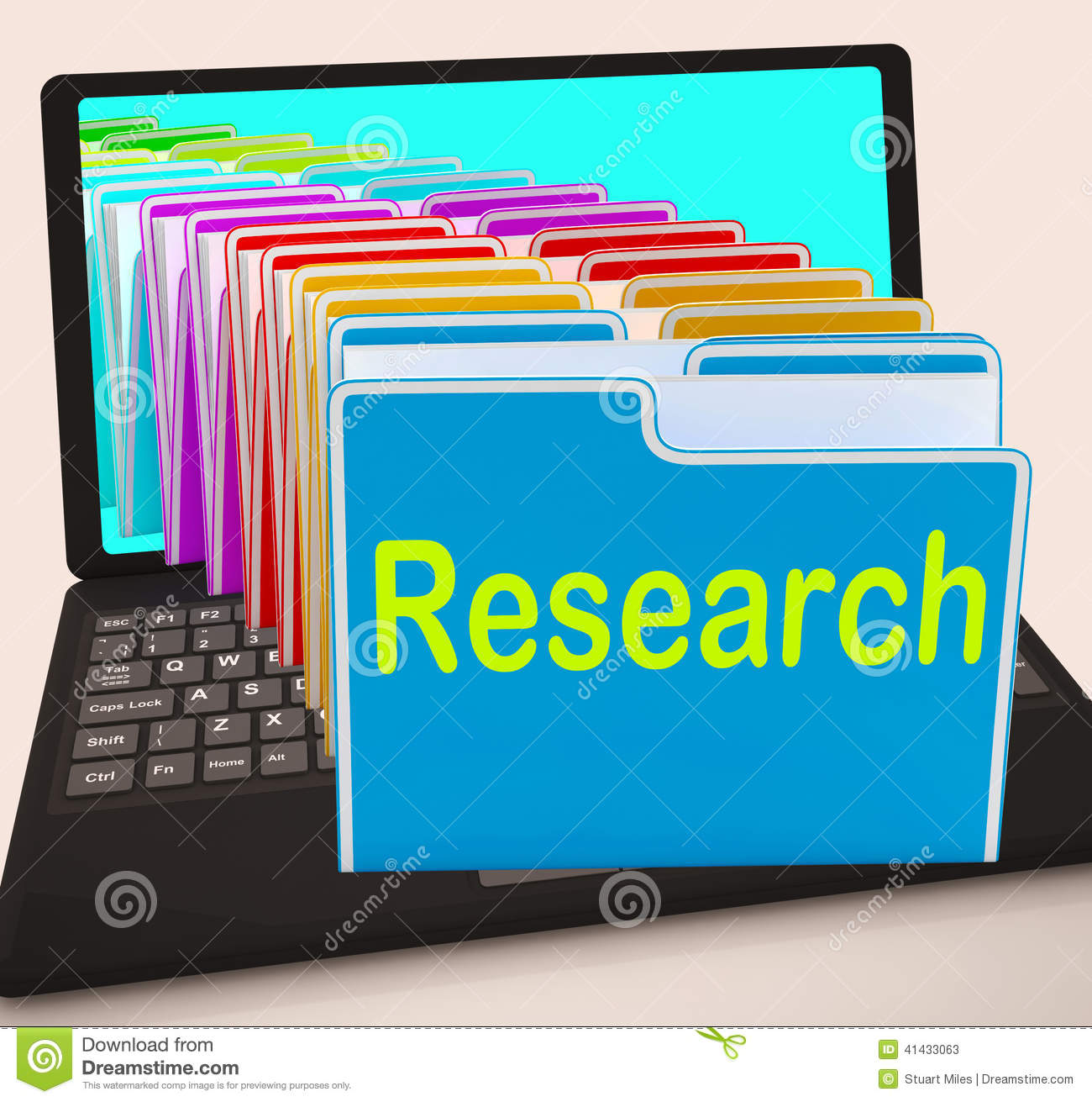 gathering information for research paper