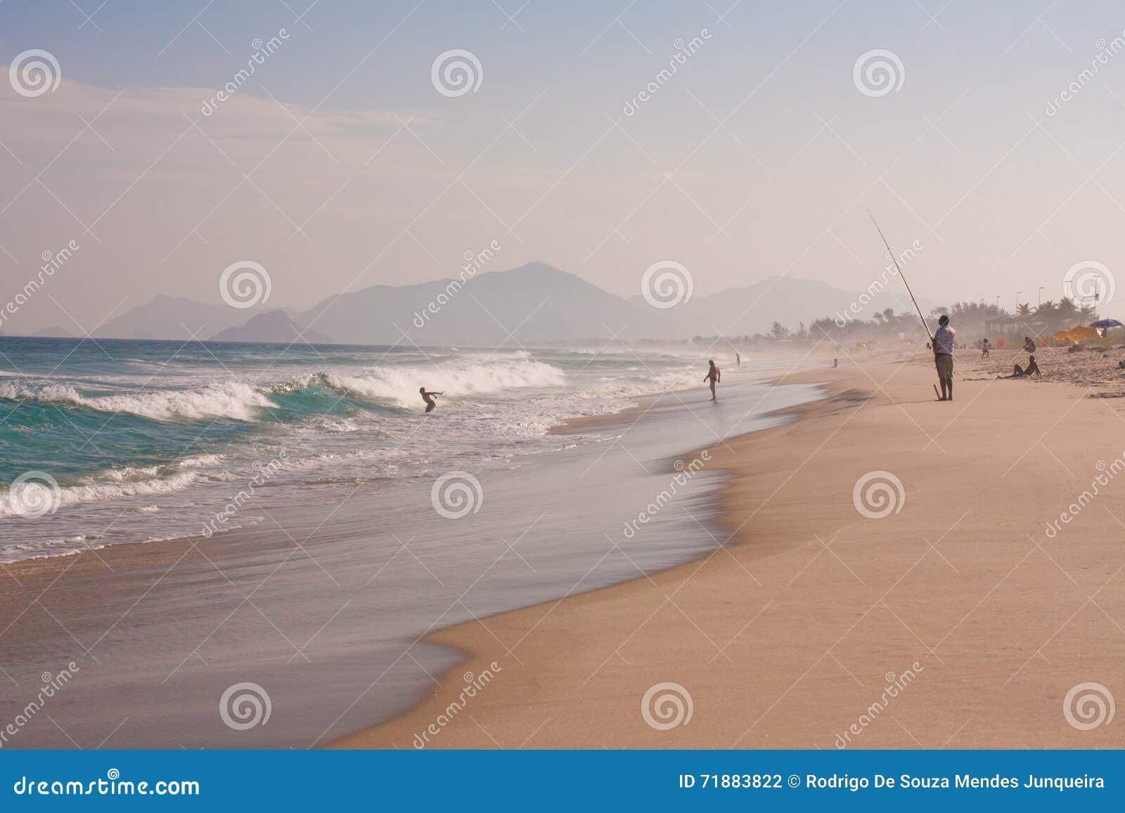 Reserva plaża W Rio De Janeiro