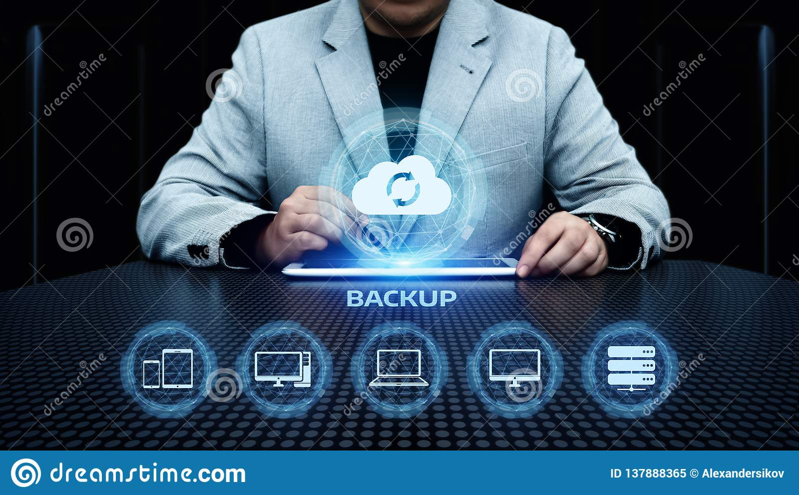 Reserve de Technologie van Bedrijfs Internet van Opslaggegevens concept