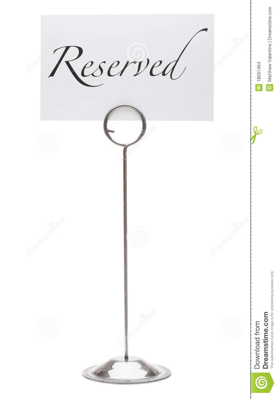 Stainless Steel Reserved Table Number Sign Tabletop ...  |Reserved Table Sign Holder