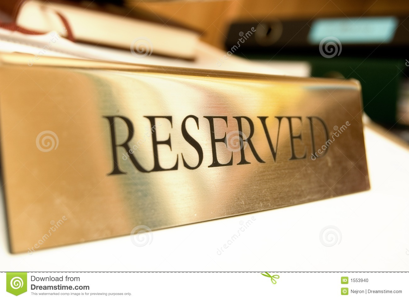 Reserved title