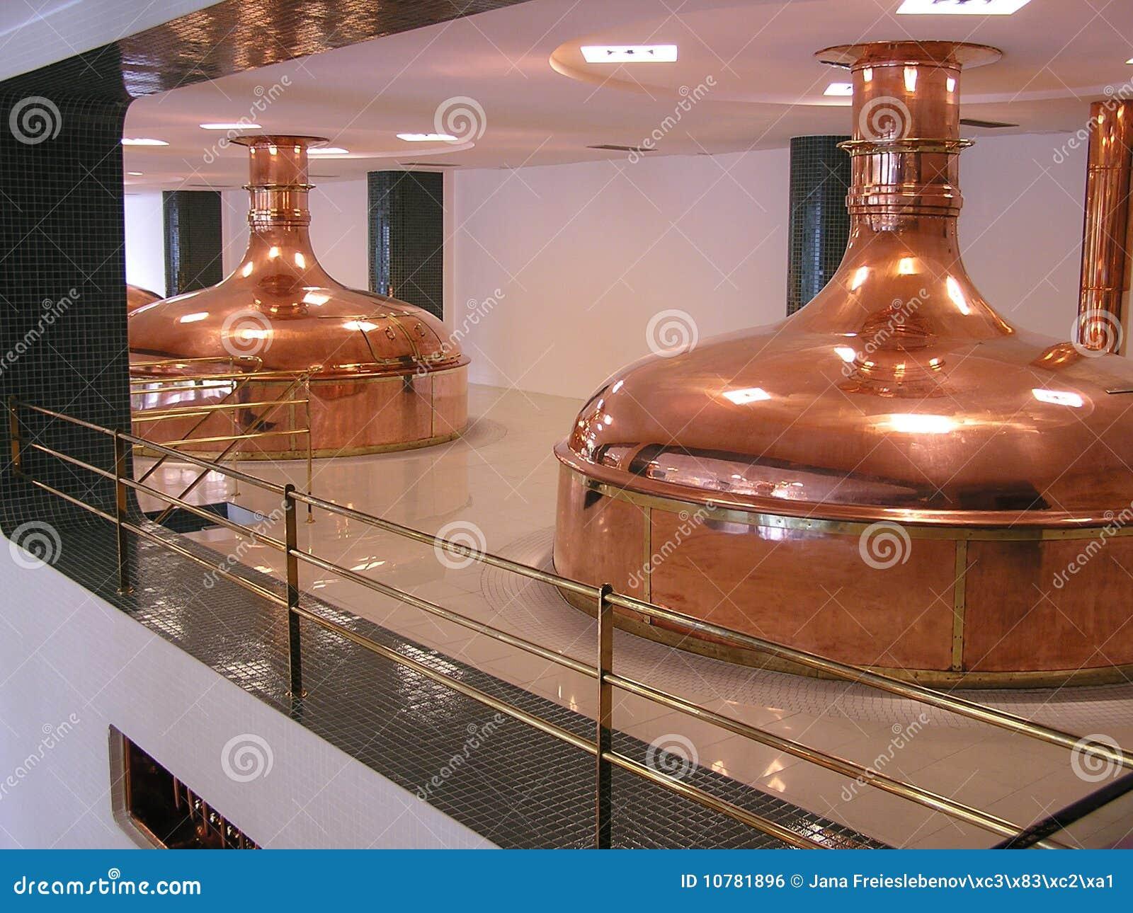 Reservoirs voor bier