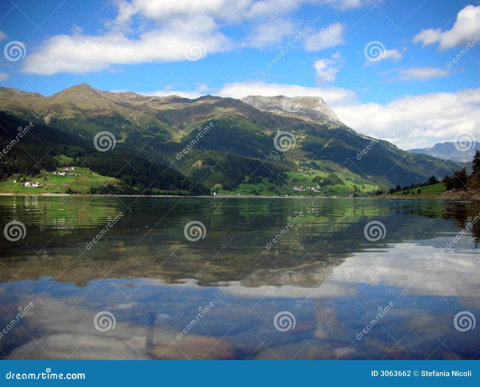 Resia lake