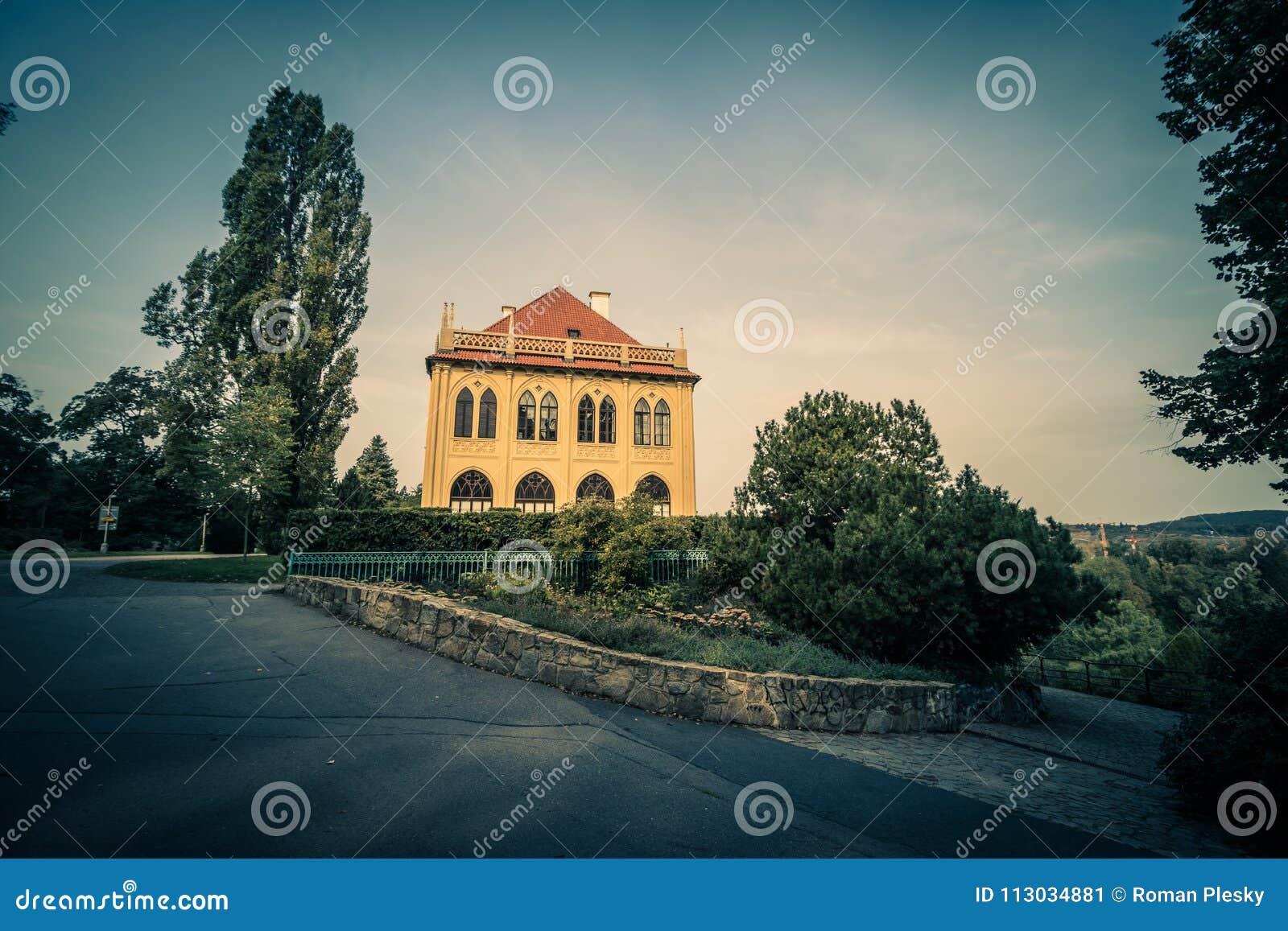 Residencia del verano del ` s del gobernador en Praga, República Checa