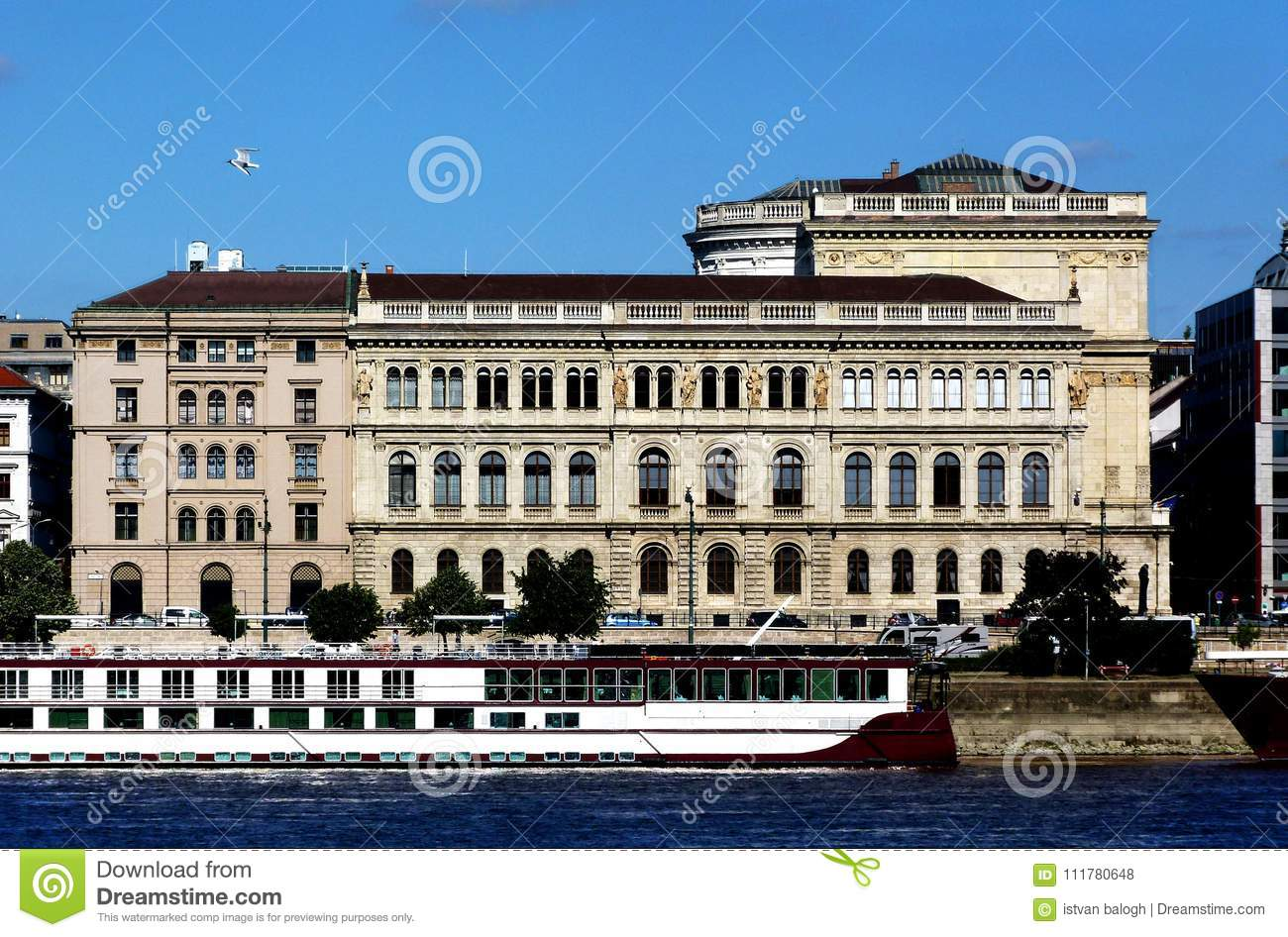 Residential Building along the Danube in Budapest