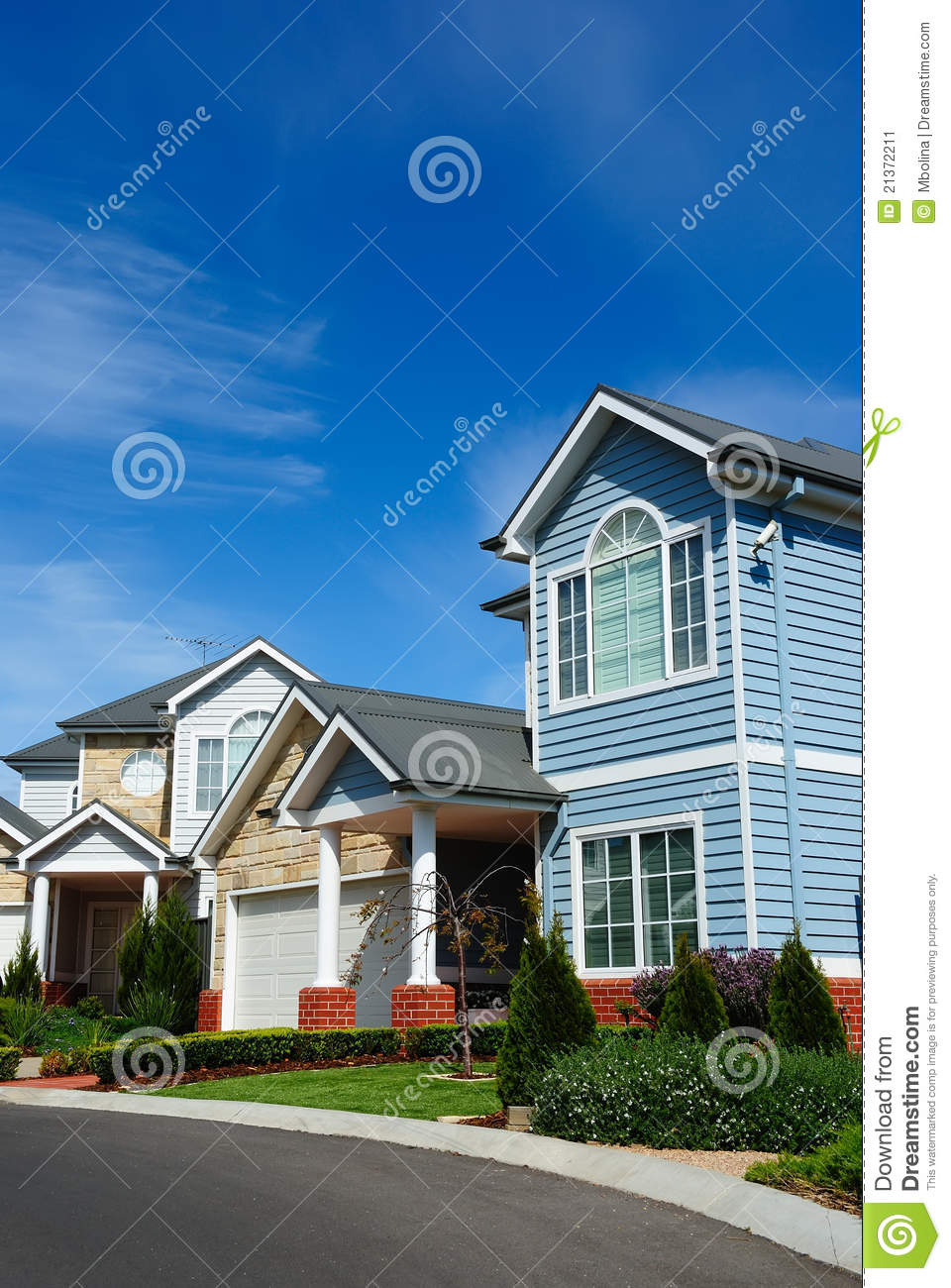 Residential Building Exterior Design Stock Image Image