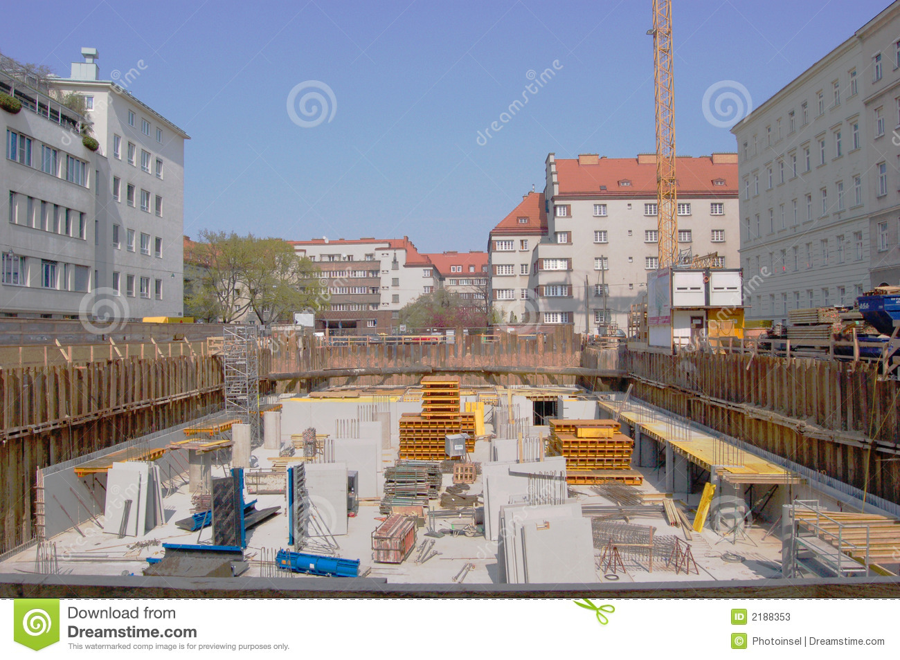 Residential Construction Site Stock Photos - Image: 2188353
