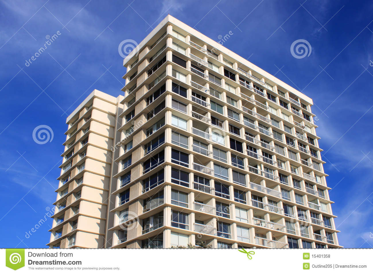 High Rise Apartment Design Exterior high rise apartment buildings stock photos - image: 14768083
