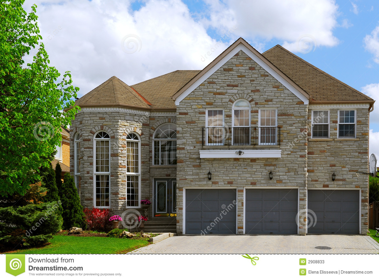 Residential Home Stock Photos Image 2908833