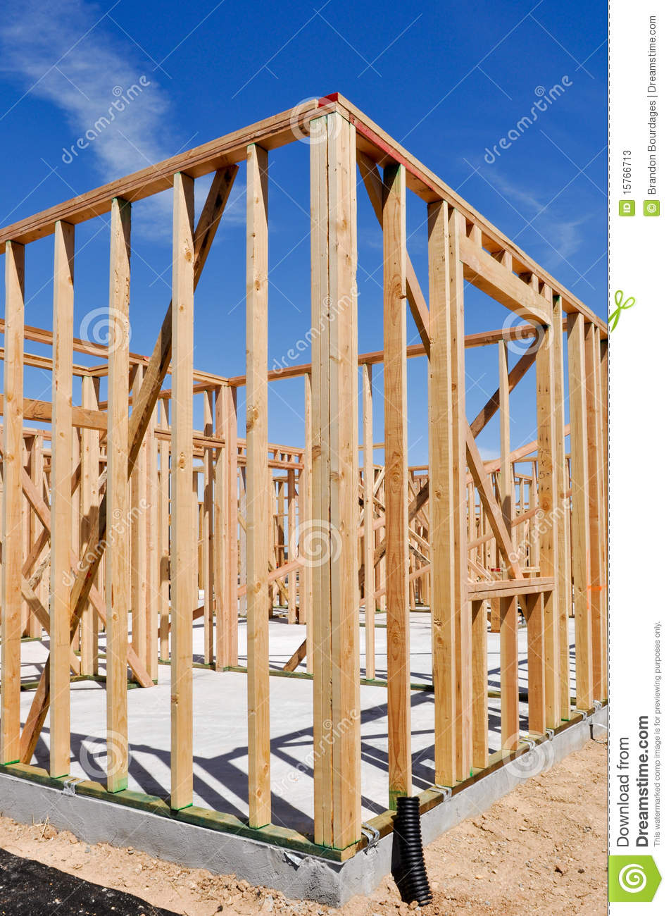 Residential Home Construction Stock Photos Image 15766713