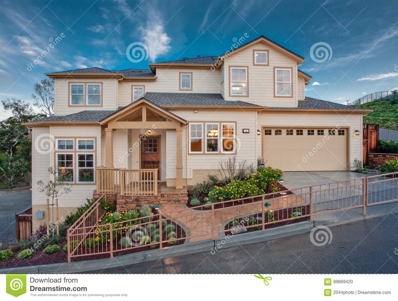 Residential Home Front Exterior