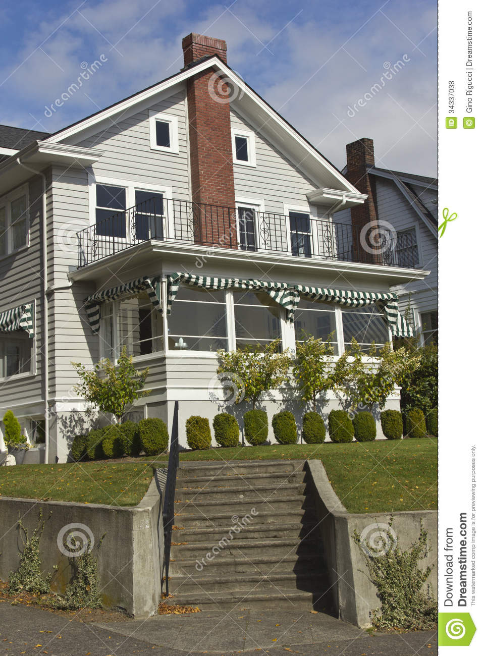 Residential homes in seattle wa royalty free stock photos for Home builders in wa