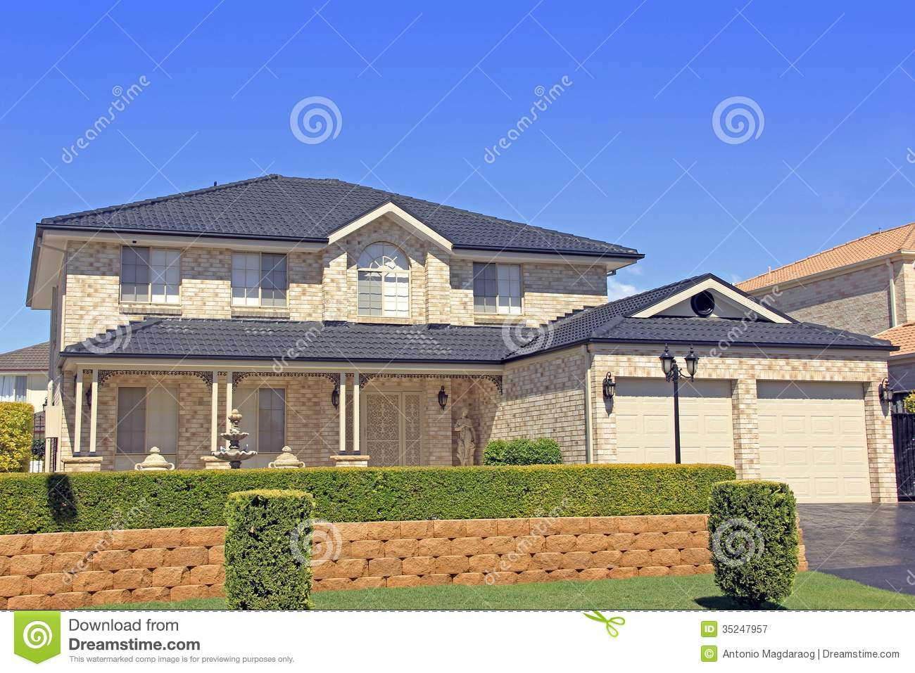 Residential house royalty free stock photography image for Beautiful residential houses