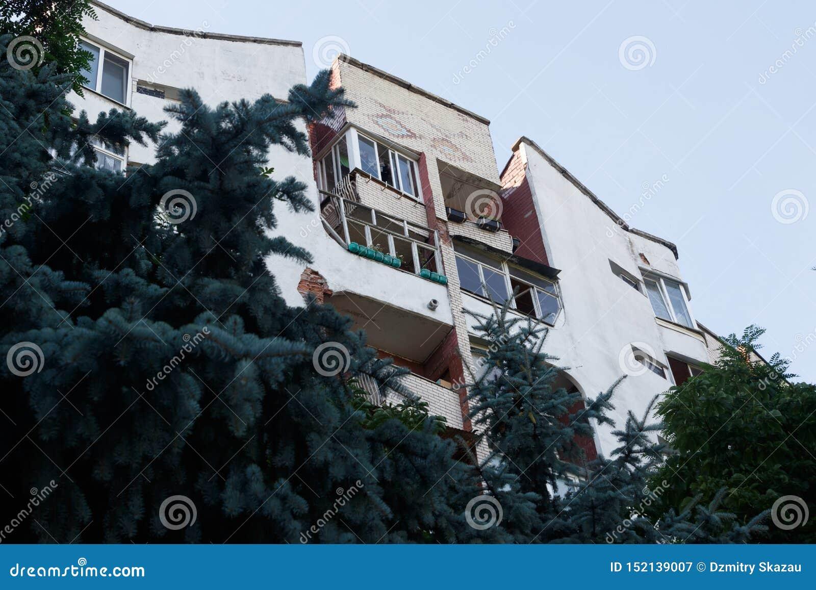 Residential house loggias