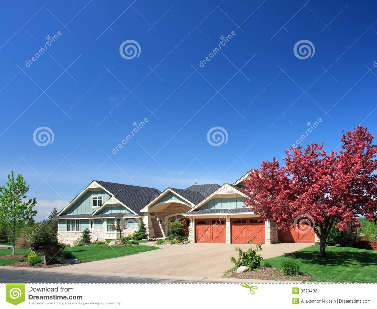 Residential House In Minneapolis Stock Photography Image