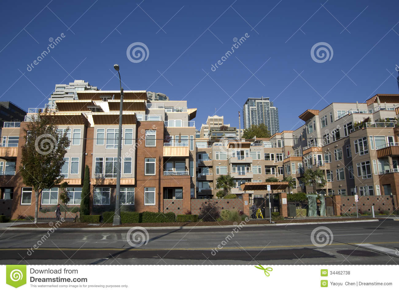 Residential housing seattle waterfront apartment editorial for Nice places to live