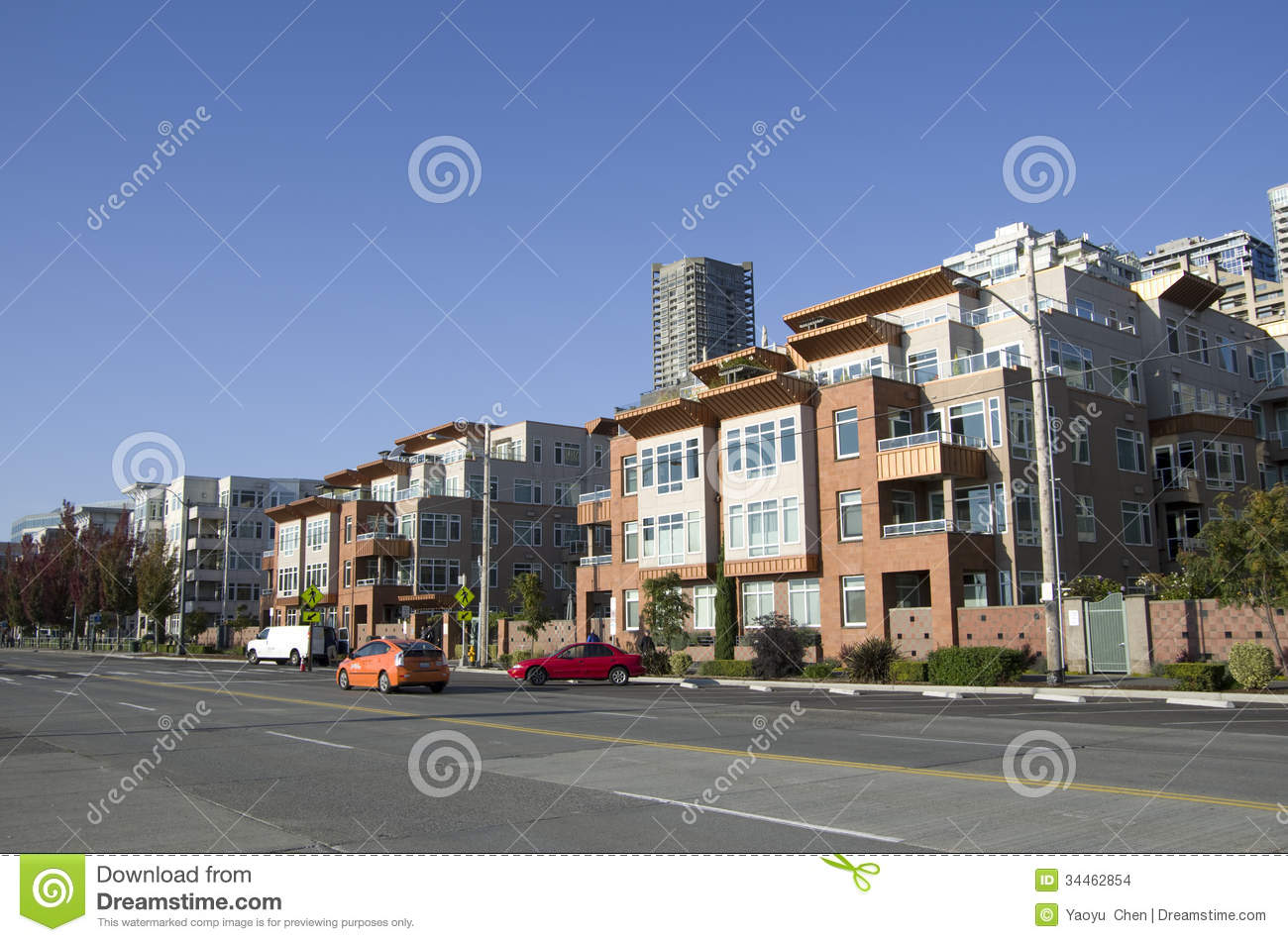 Residential housing seattle waterfront apartment stock for Nice places to live