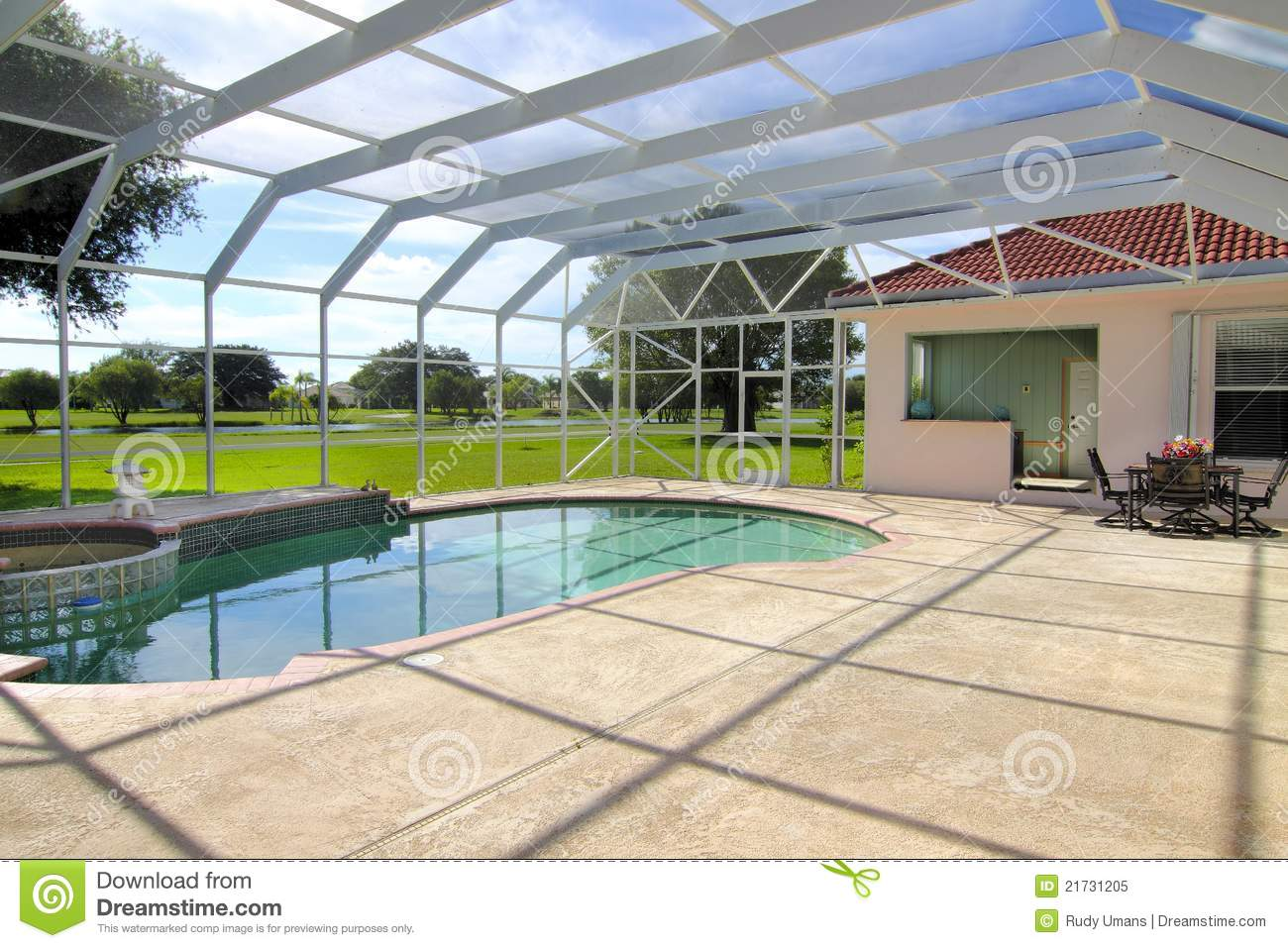 Residential swimming pool royalty free stock photo image for Residential swimming pool