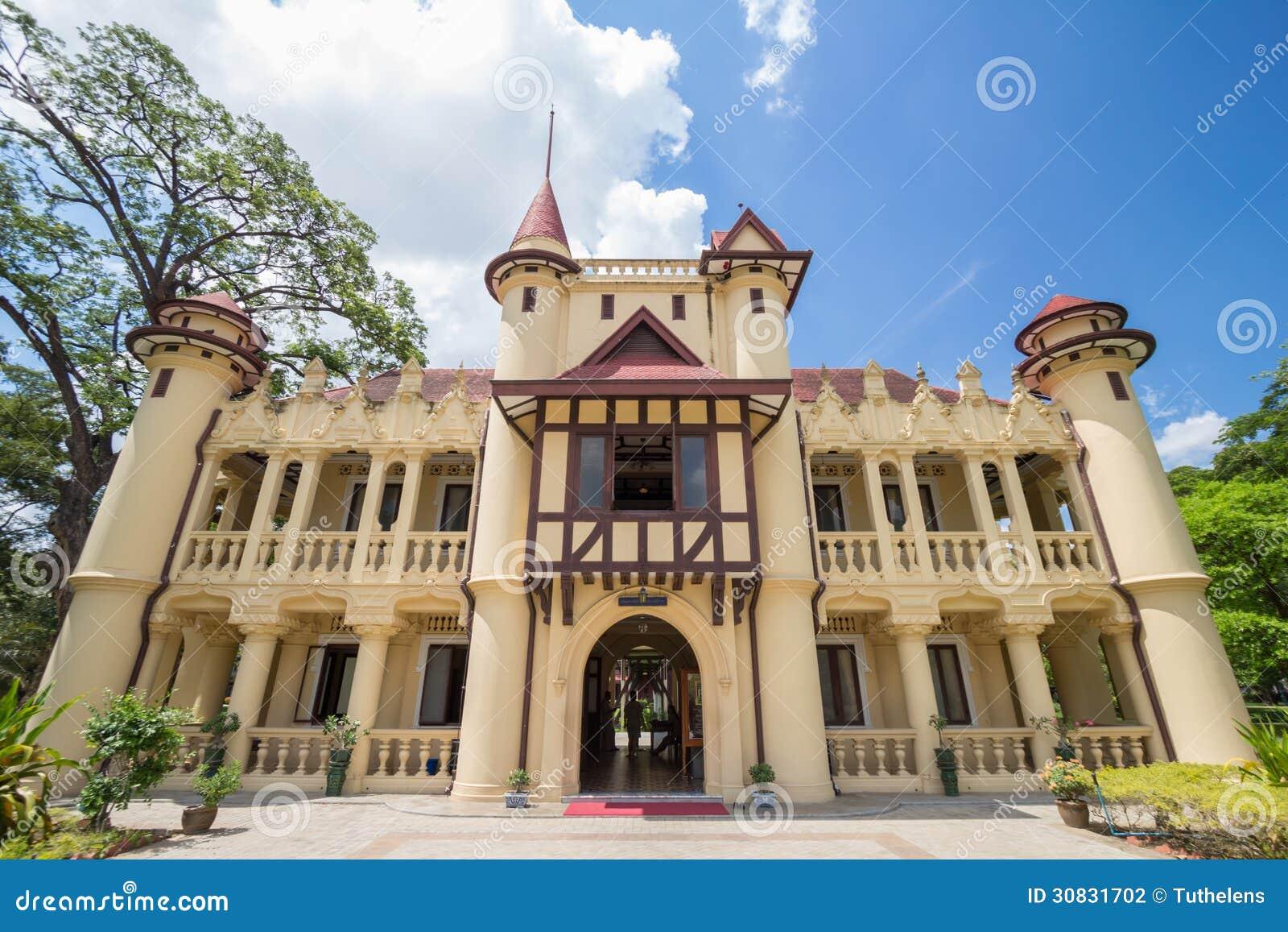 Residenza di Chaleemongkolasana al palazzo di Sanamchandra