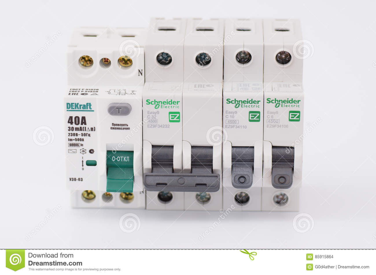 Residual-current Device And Double-pole Circuit Breaker. Editorial ...