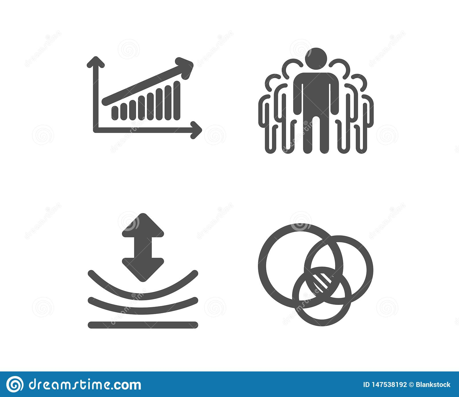 Resilience  Chart And Group Icons  Euler Diagram Sign