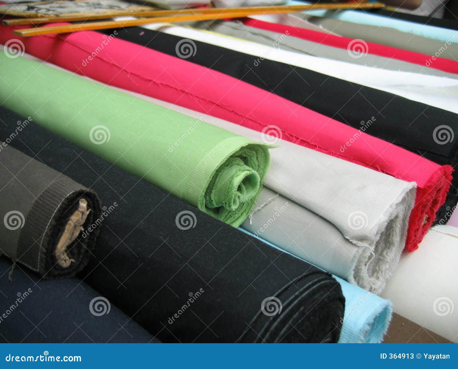 Resmas de materias textiles
