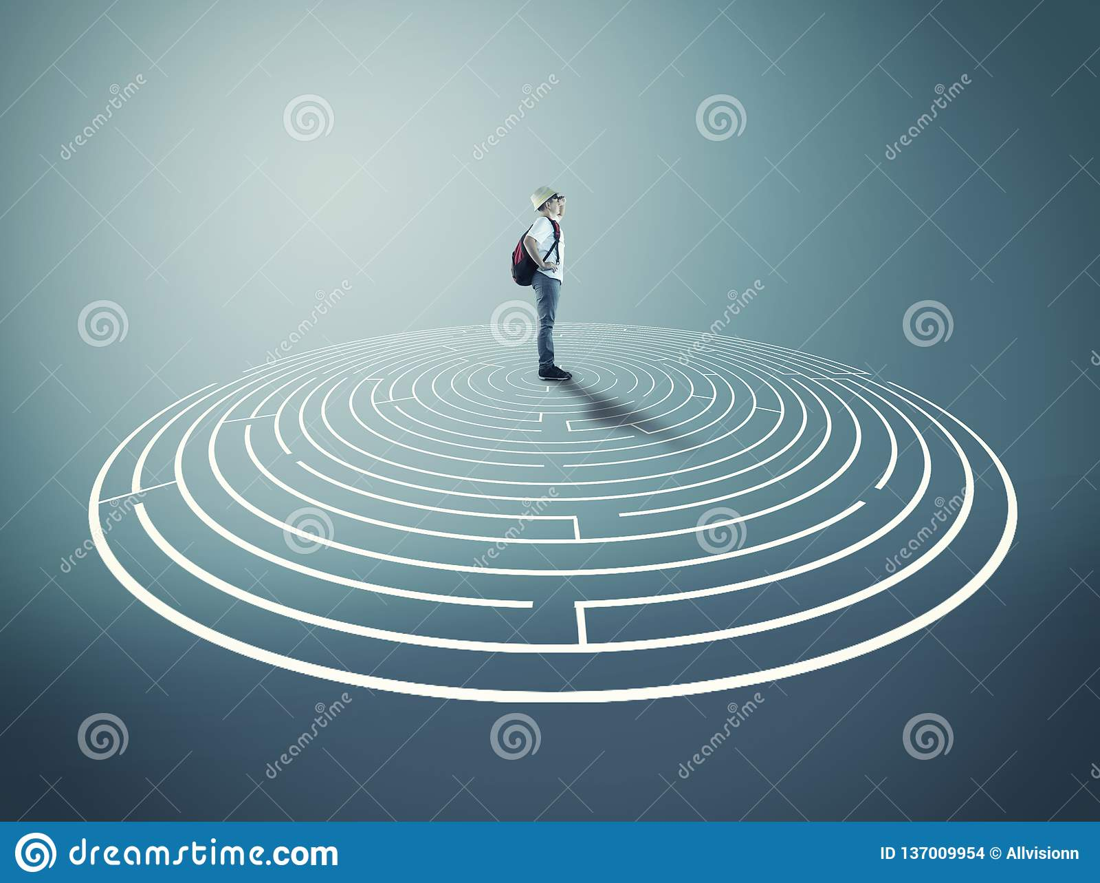 Resolva o labirinto