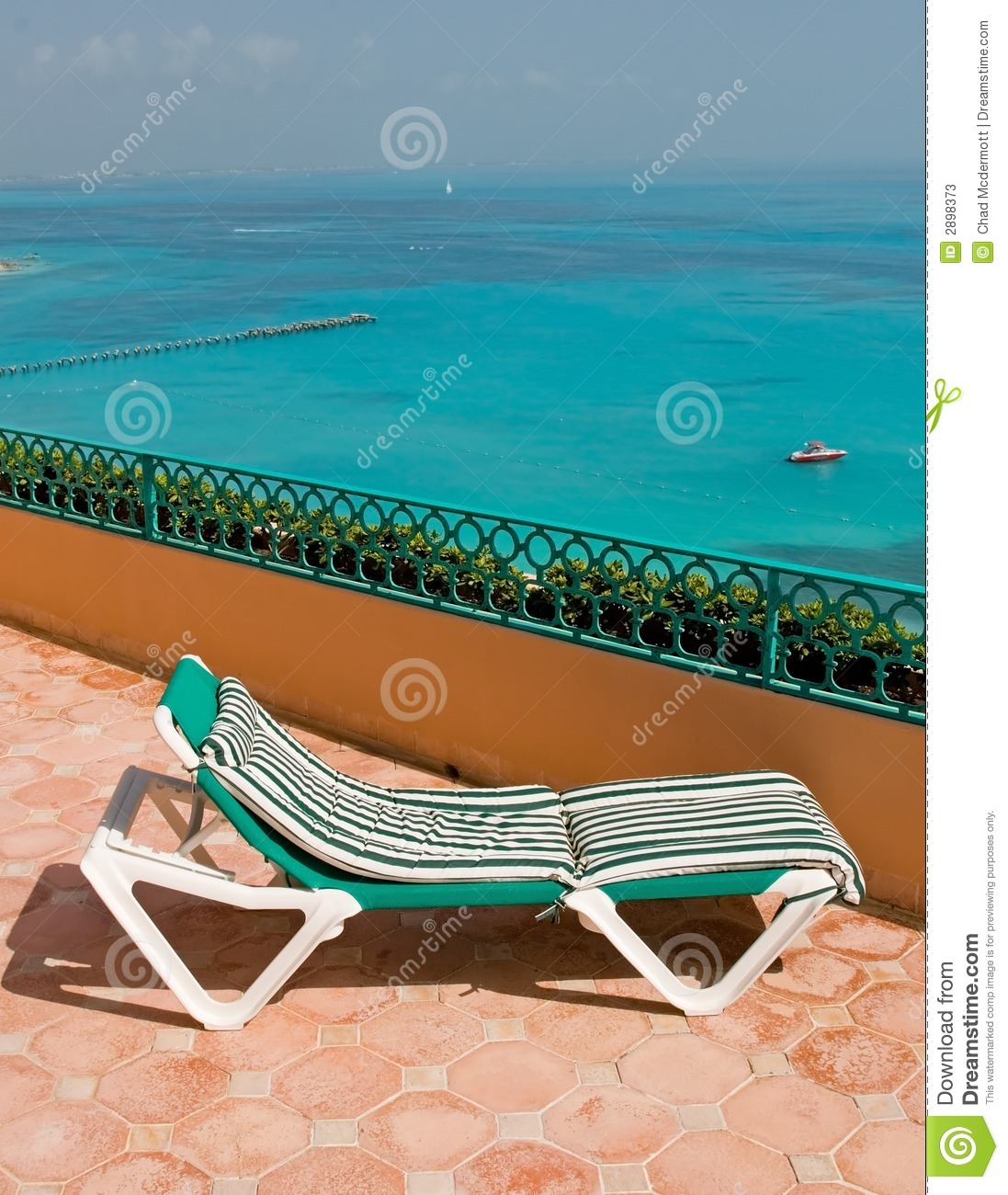 resort balcony lounge chairs stock photos image 2898373. Black Bedroom Furniture Sets. Home Design Ideas