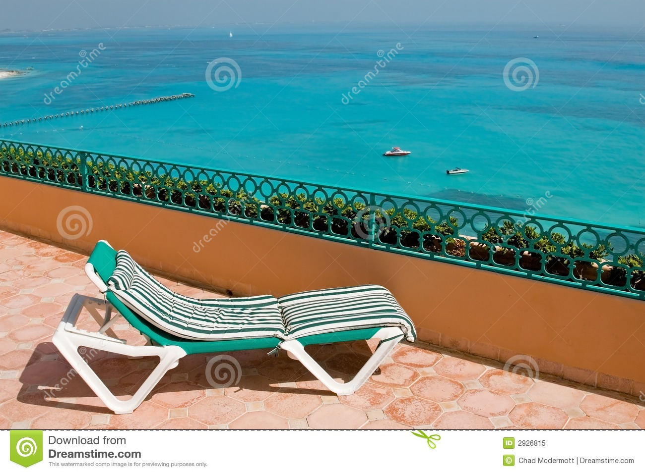 resort balcony lounge chairs royalty free stock photo. Black Bedroom Furniture Sets. Home Design Ideas